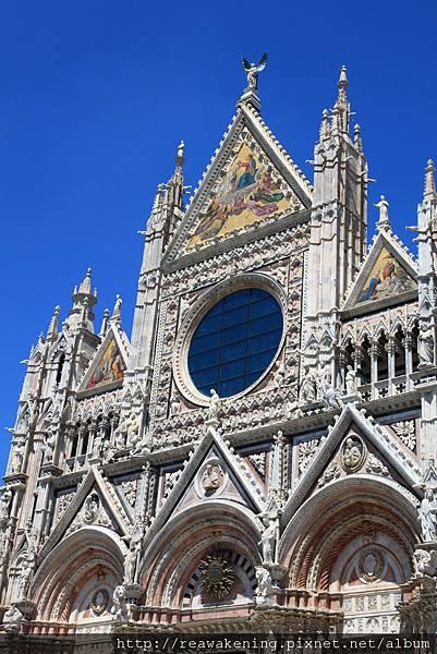 0805 Siena Duomo 仿羅馬與哥德式建築