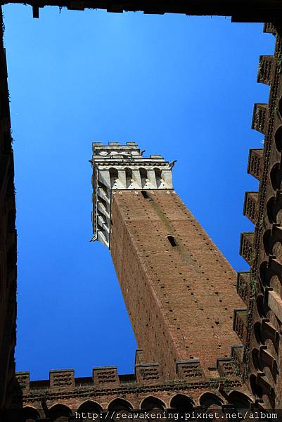 0805 還滿喜歡這張 從古堡的天井中仰望高塔