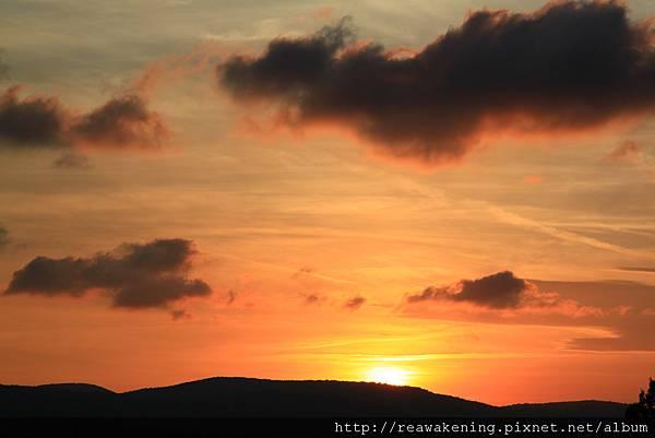 0807 托斯卡尼的日落 今天是最後一晚囉
