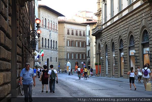 0809 Florence 街景 尋覓晚餐地點中