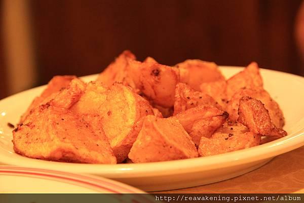 0809 小菜 烤馬鈴薯