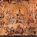 0809 正中央周圍有光環的是耶穌 下面是馬利亞 周圍圍繞著眾使徒