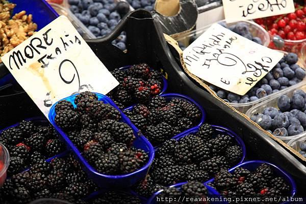 0809 各式各樣的莓果 3 --這是桑葚吧