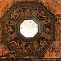 0809 聖母百花大教堂 圓頂正中央 每一個周圍的人都栩栩如生