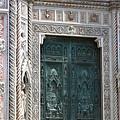 0809 聖母百花大教堂--好精緻的門