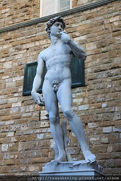 0809 維奇歐宮 舊宮前仿製的大衛像