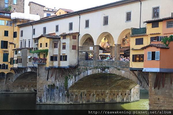 0809 維奇歐舊橋 Ponte Vecchio 翡冷翠最古老的一座橋
