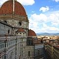 0809 選擇鐘樓登頂 就是為了拍這聖母百花教堂的圓頂