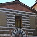 0811 Lucca 街景. 教堂