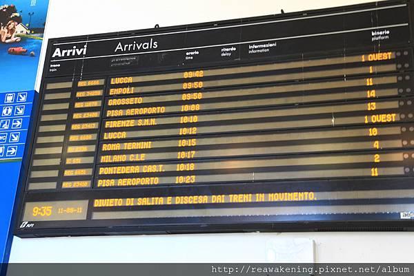 0811 終於學會流暢地解讀火車時刻表