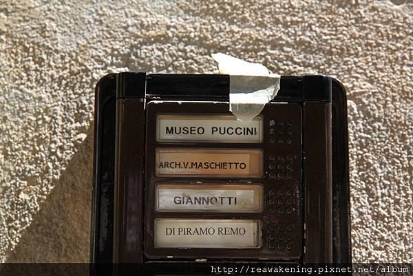0811 頂樓 Museo Puccini 可惜在整修 殘念