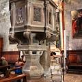 0811 聖米迦勒大教堂 裡面的華麗講壇