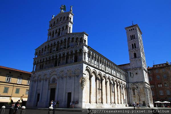 0811 聖米迦勒教堂 全景 但正值中午休息時間未開放