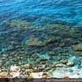 0812 地中海清澈見底的海水 真是透明的湛藍啊