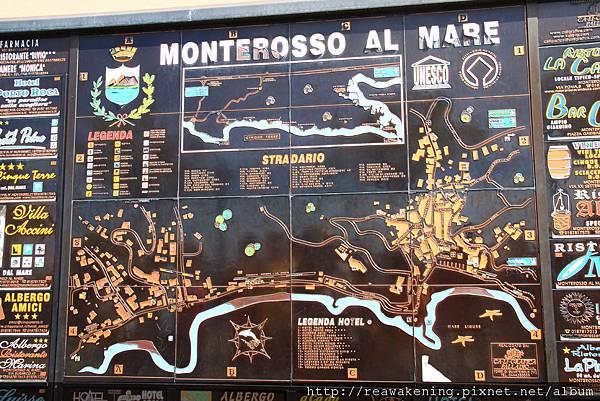 0812 車站出來有一個好漂亮的馬賽克拼貼地圖