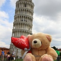 0813 小熊遊世界之 比薩斜塔