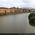 0813 環繞著比薩市中心的河流
