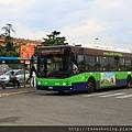 0815 乘坐公車抵達火車站