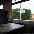 0815 高級的火車內部