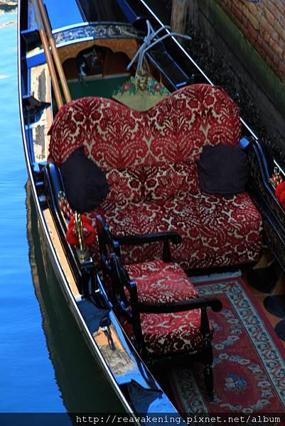 0815 華麗的貢多拉座椅
