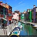 0816 比起威尼斯商業化的水上樂園  這裡很有生活的味道 也對了我們的胃口