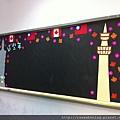 110924 我們的教室布置 象徵台灣與加拿大和諧相處