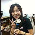 110917 為了上課效果特地買的猴子麥克風套 有夠三八