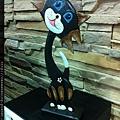 110522 可愛的木頭貓