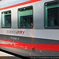 越坐越高級了 Eurostar--city.JPG