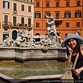 0801 Piazza Novona--海神噴泉 1