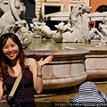 0801 Piazza Novona--海神噴泉 4