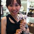 0802 西班牙廣場附近吃冰淇淋