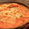 120126 泡菜鍋燒麵 看起來真可口