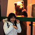 120227 以及熊標本 熊好可愛