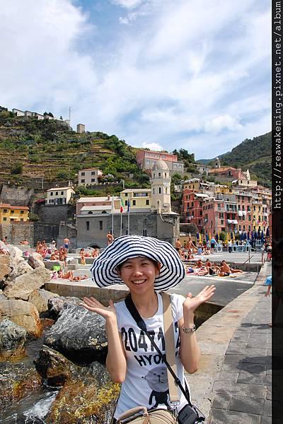 0812 Vernazza 彩色村落