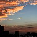 111104 今晚的夕陽特別美