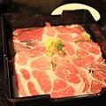 120413 壽喜燒的豬肉片