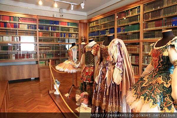 好珍貴的博物館  有好多當時演出的歌劇服裝