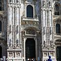 米蘭大教堂--大門