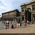 米蘭大教堂門口廣場