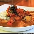 082012 微辣的和風炸雞咖哩飯
