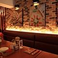 120916 牆上掛滿了好吃的pizza圖片