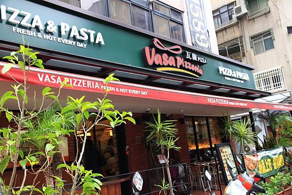 120916 Vasa Pizzeria店門口