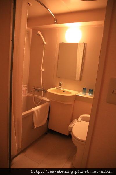 The B Hakata-小巧的浴室