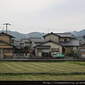 喜歡沿途的日式小房子