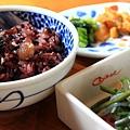 營養的紫米飯
