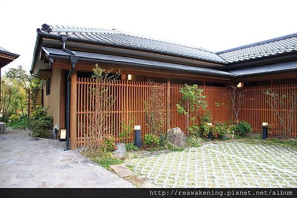 御宿仙壽的庭院