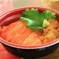 嘿~鮭魚海膽飯