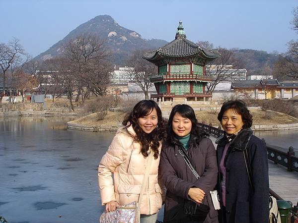 我和解說員小姐與媽媽--景福宮