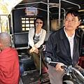 一到了緬甸先坐嘟嘟車